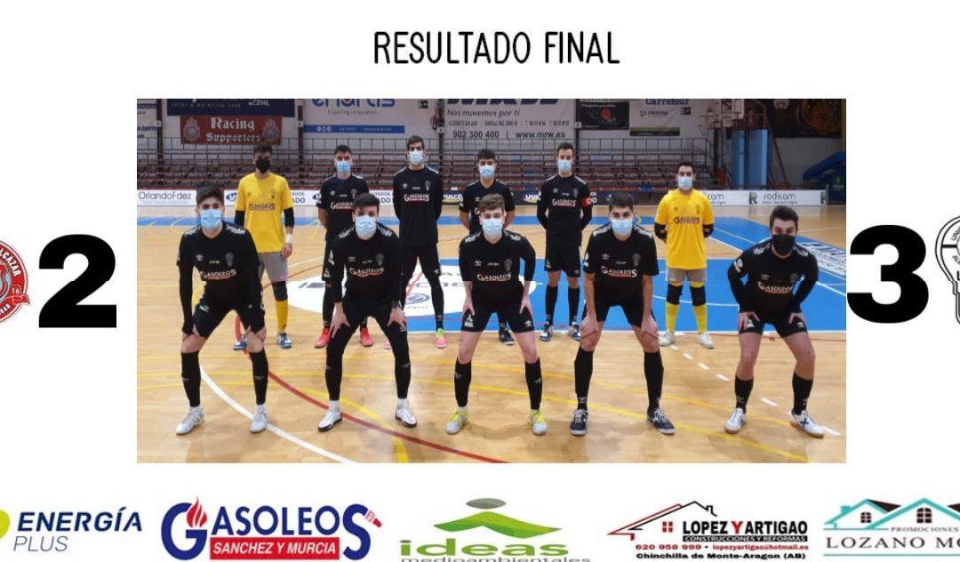TERCERA DIVISIÓN MASCULINO// UD RACING ALCÁZAR 2-3 UDAF
