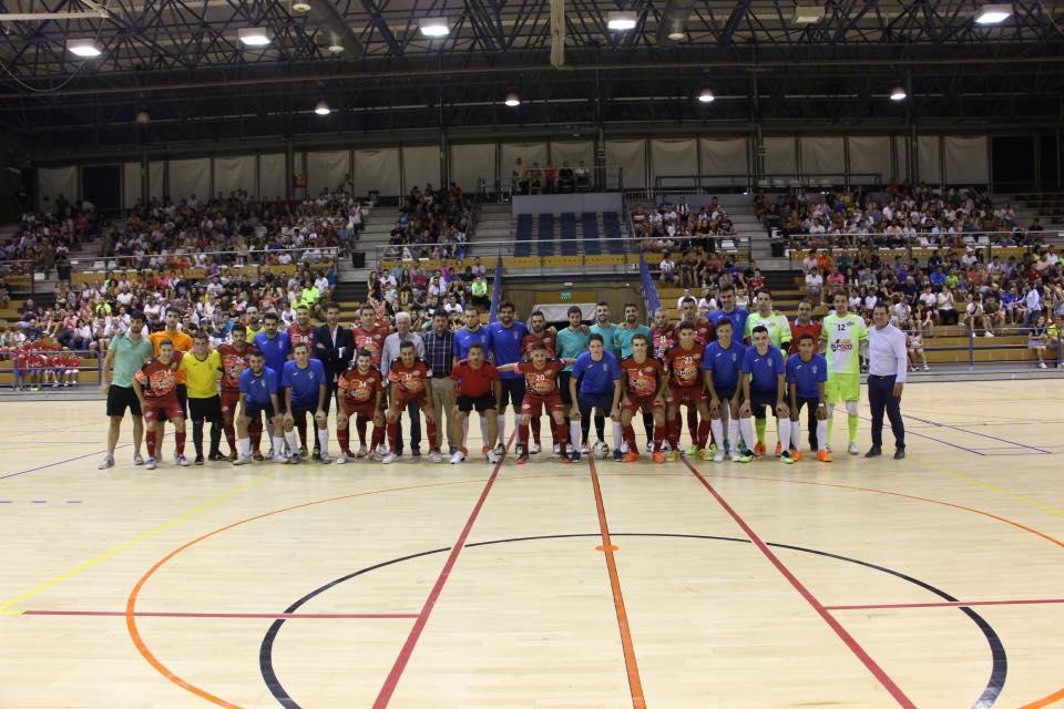 Imágenes del partido contra el Pozo Murcia.