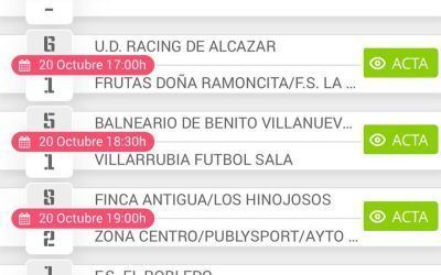 UDAF albacete futsal 3- 1 Pedernoso (senior masculino)