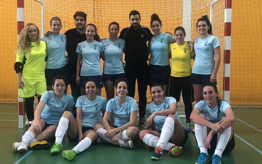 Victoria 11-0 del femenino contra el Iniestense