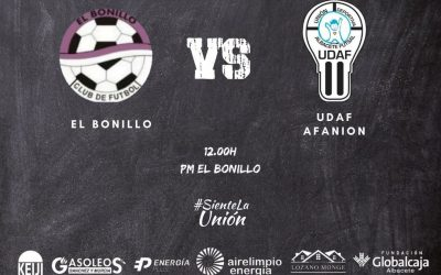 UDAF AFANION 'B' viaja a El Bonillo con el objetivo de estrenar su casillero