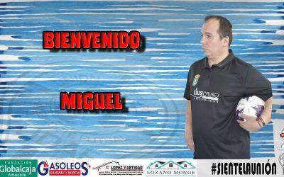 MIGUEL …., NUEVO ENTRENADOR DEL JUVENIL AUTONÓMICA