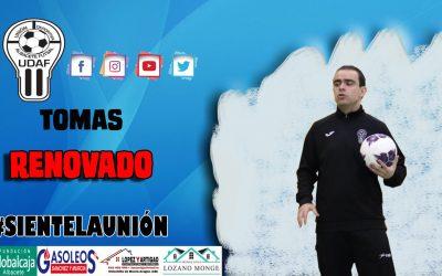 TOMÁS ZAFRILLA RENUEVA COMO ENTRENADOR DE UDAF