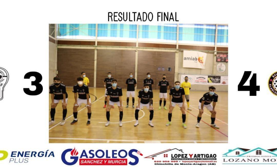 MASCULINO 3A DIVISIÓN // UDAF 3- 4 BM ALARCOS SALESIANOS
