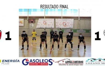 MASCULINO 3A DIVISIÓN // ALBACETE F.S. 1- 1 UDAF
