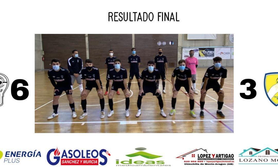MASCULINO 3A DIVISIÓN // UDAF 6 – 3 FRUTAS DOÑA RAMONCITA LA SOLANA FS