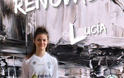 Lucía Díaz seguirá defendiendo la camiseta de UDAF AFANION