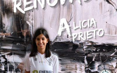 Alicia Prieto continuará defendiendo los colores de UDAF AFANION
