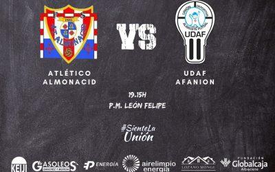 UDAF AFANION arranca la temporada en Tercera División con su visita a Almonacid