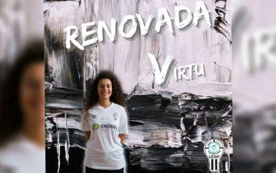 Virtu Peláez volverá a jugar la próxima temporada en UDAF AFANION