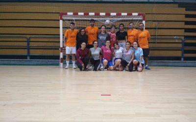 Empezando a construir el equipo femenino de Futsal